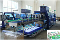 Low Noise Fast Speed Shrink Packaging Equipment Film With Tray Or Pad Wrapper