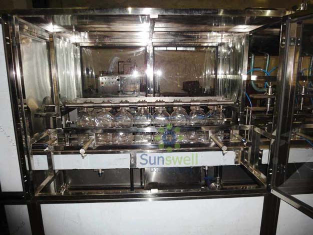 Stainless Steel Automatic 4 gallon, 5 gallon mineral water filling machine and equipment