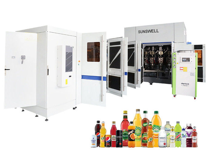 Sunswell PET Bottled Water Filling And Capping Machine Combi Soft Drinking Production Line