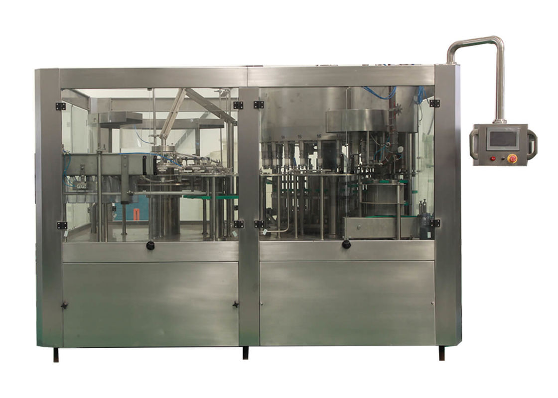 SUS Bottling Packaging Water Filling Machines / Equipment For Beverage